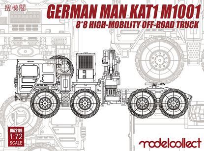 Picture of German MAN KAT1M1001 8*8 HIGH-Mobility off-road truck